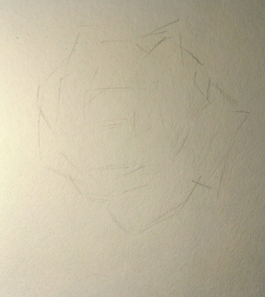 как рисовать розу