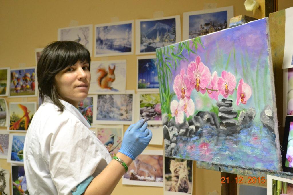 мастер-класс по живописи маслом для начинающих