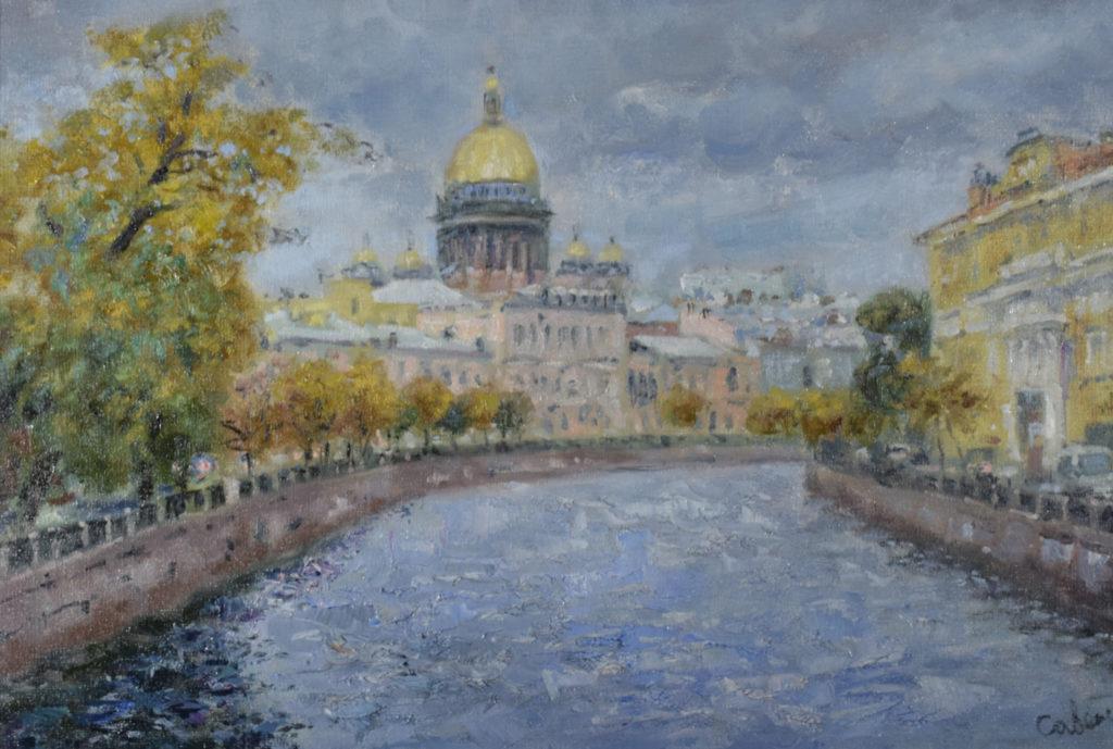 Купить картину пейзажи Петербурга