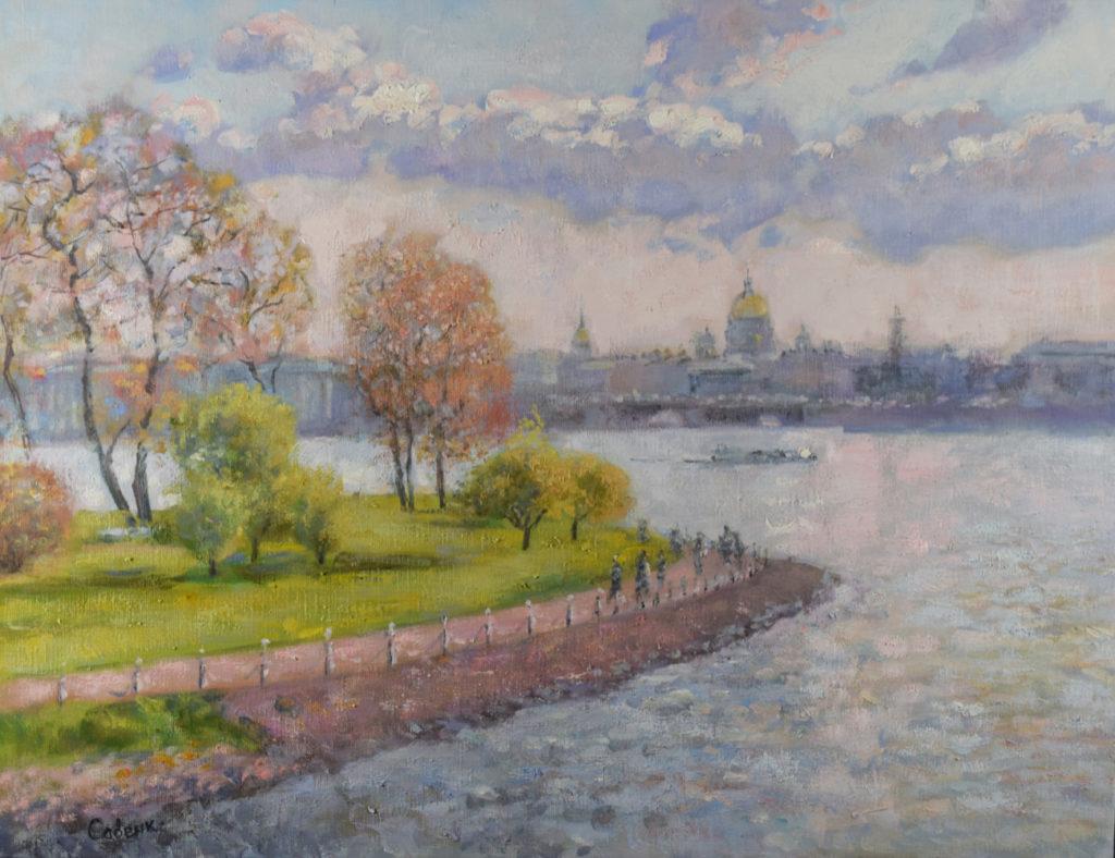 современный художник Петербурга
