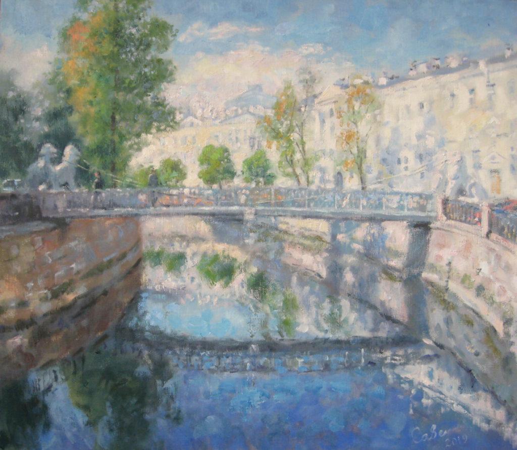 Канал Грибоедова. Львиный мостик