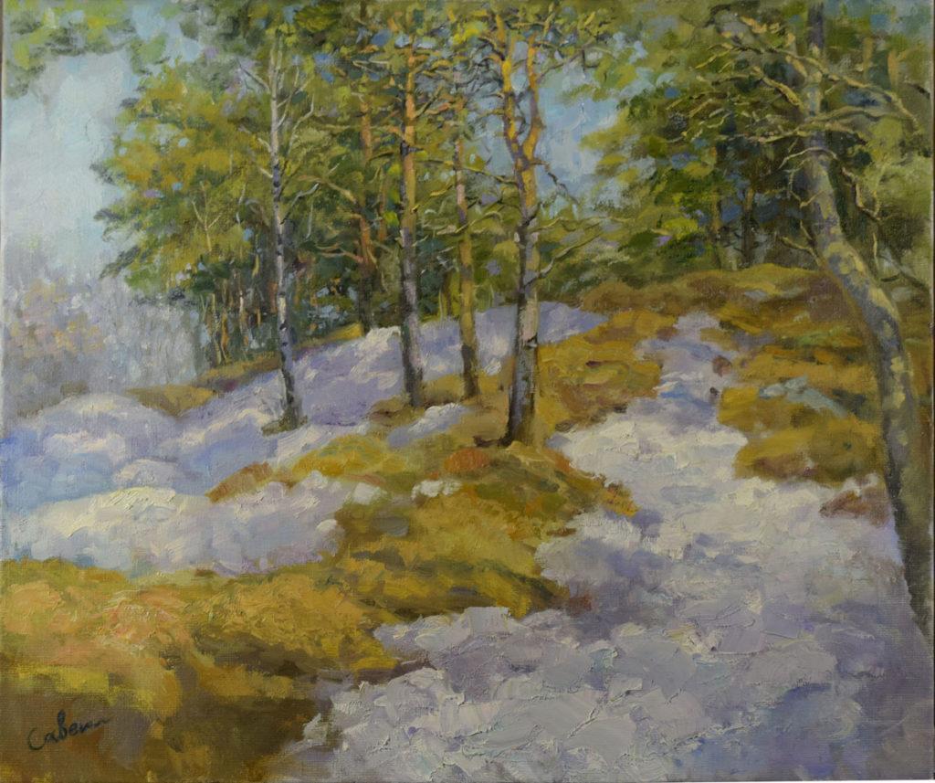картина художника ранняя весна