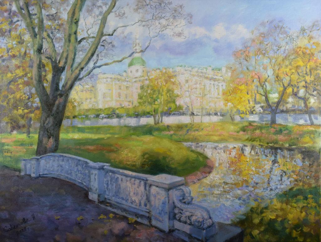 современные пейзажи петербурга