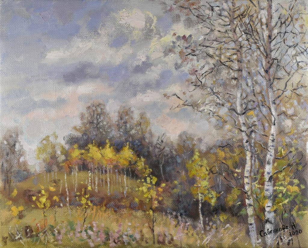 Осень в Павлово