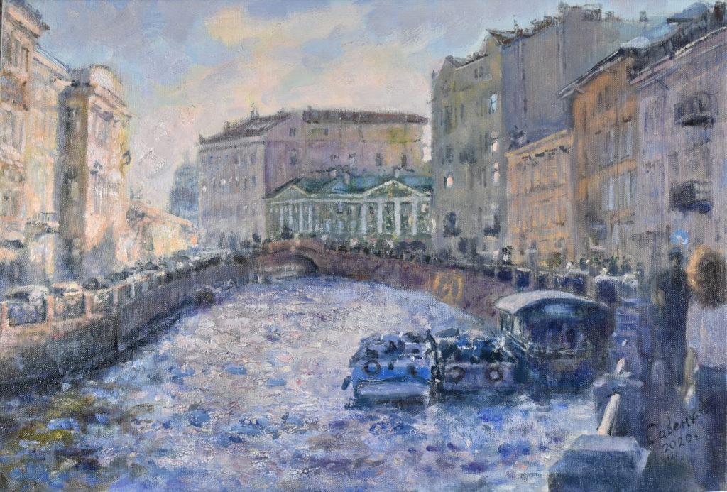 Река Мойка Петербург